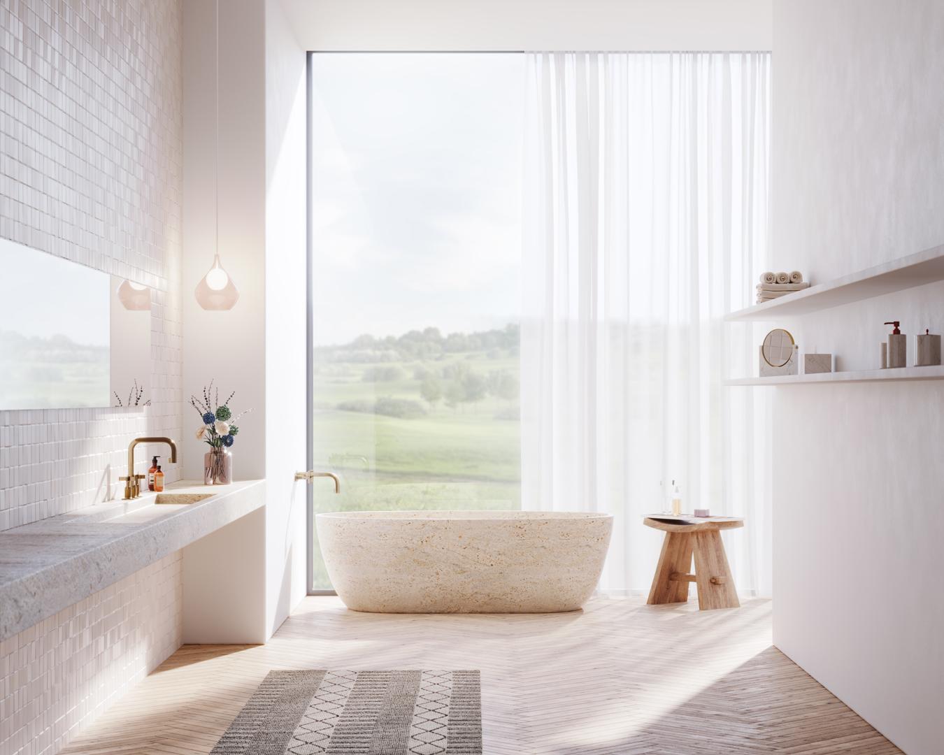 Beeldcollectief 3D render bathroom