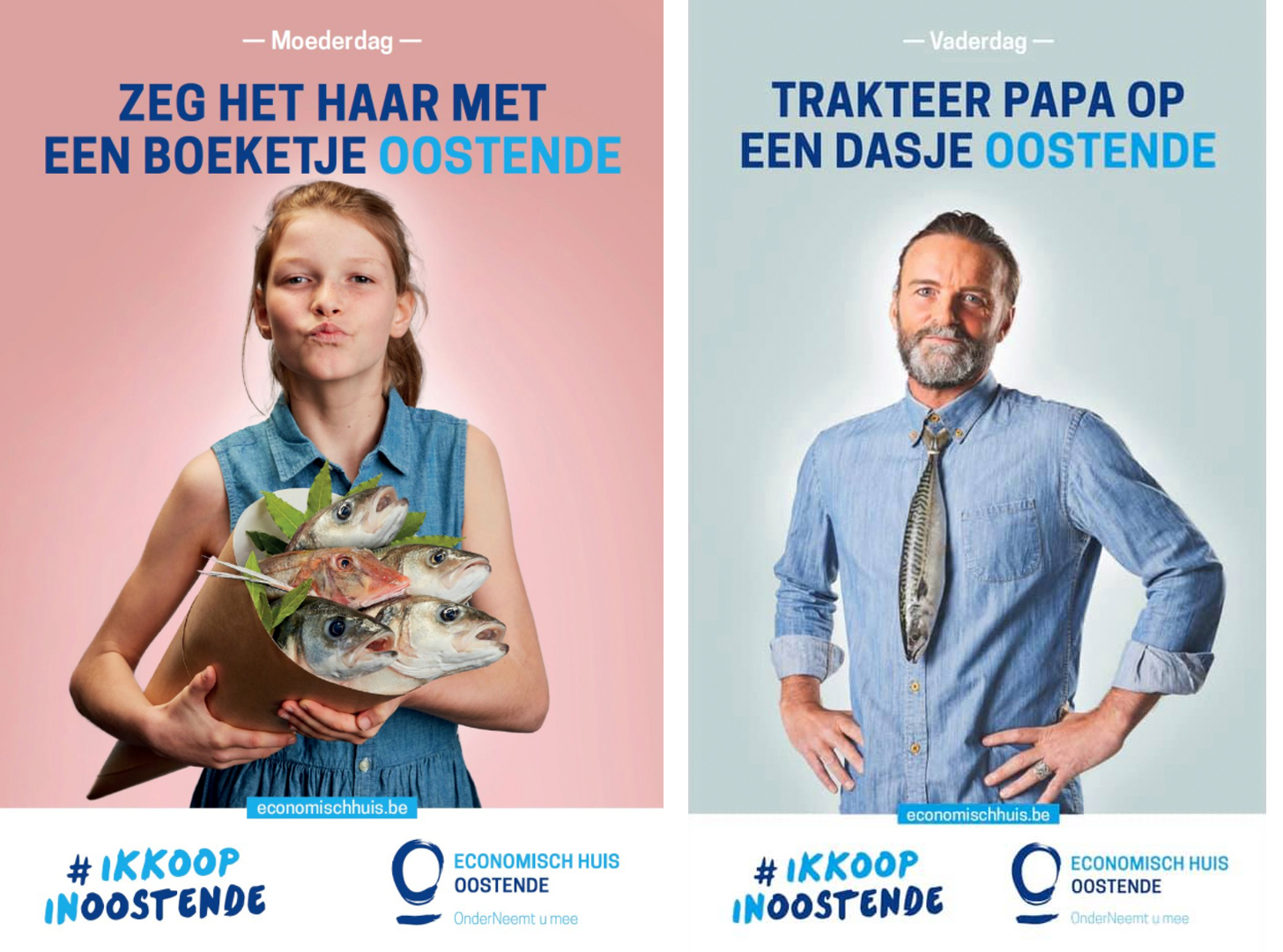 Beeldcollectief Economisch Huis Oostende campagnefoto