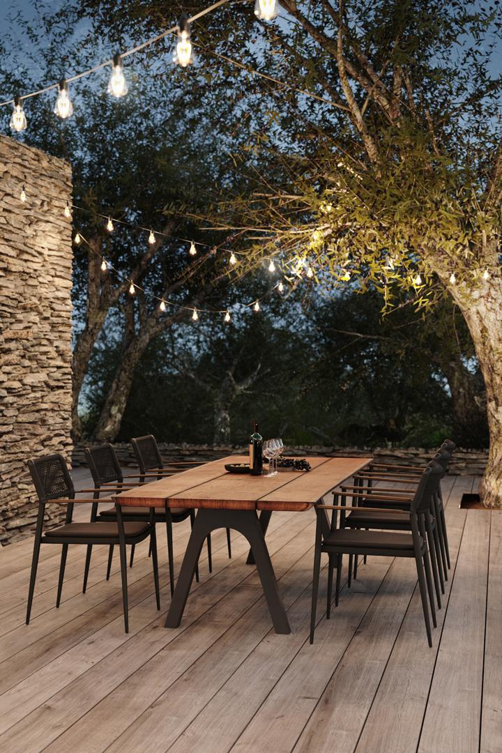 Beeldcollectief Diphano render outdoor furniture