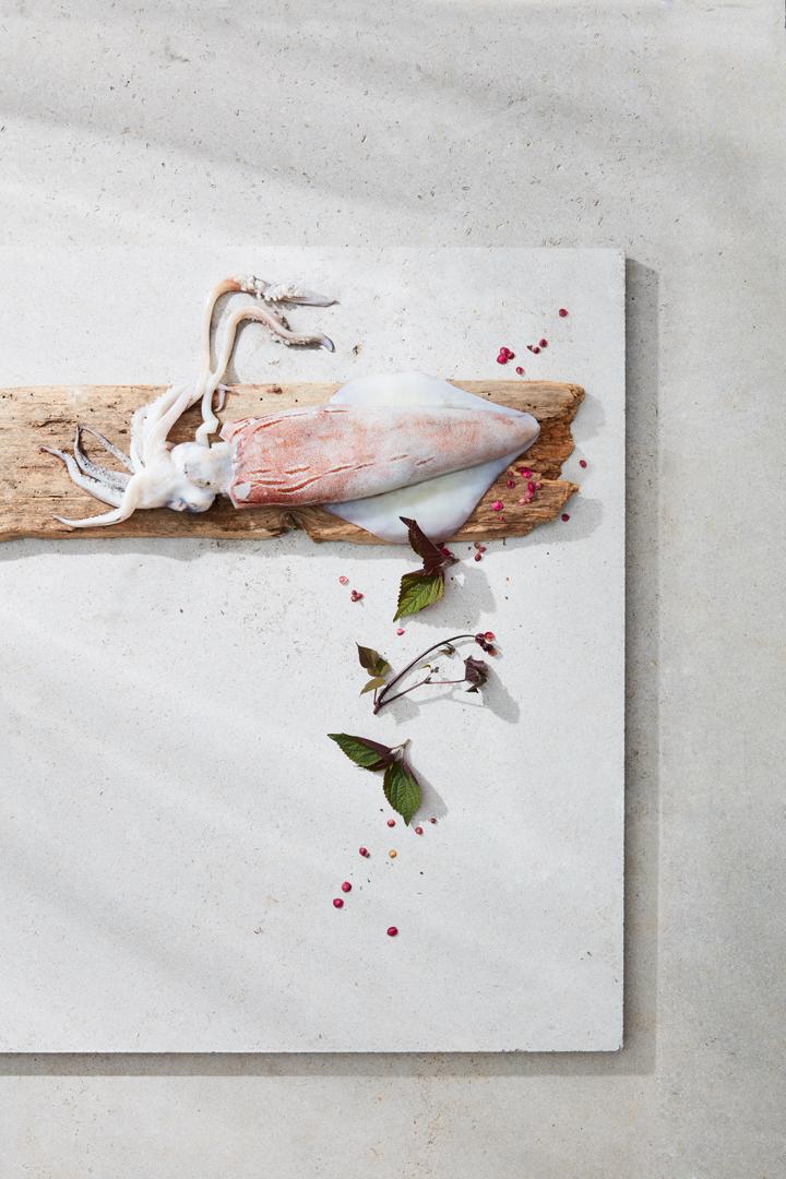 Beeldcollectief Fourchette Magazine food photography calamares
